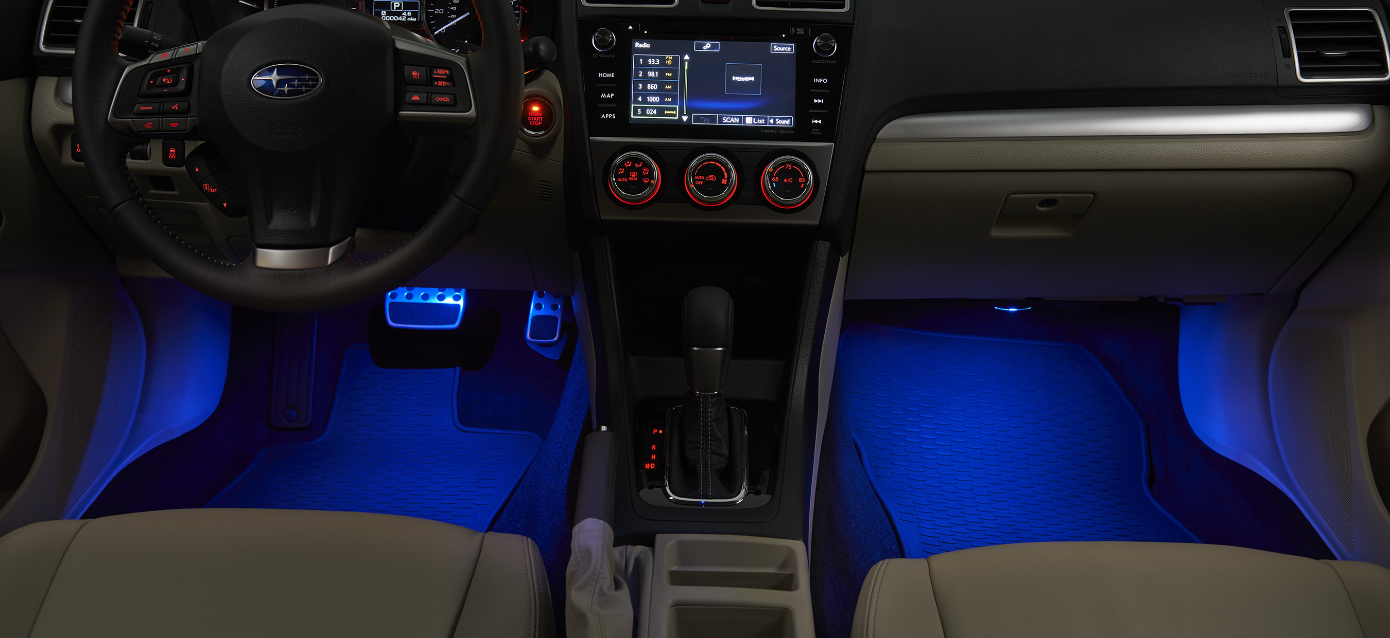 2014 Subaru Impreza Interior Illumination Kit Blue H701sfj001 Subaru Las Vegas Nv